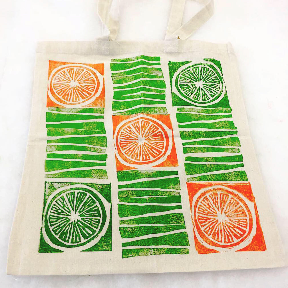 03/07 Printmaking Workshop: Block Printing on Fabric on Saturday March 7th at 10am