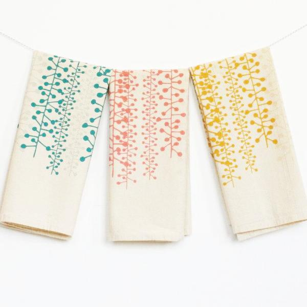 02/28 Textile Screen Printing Workshop: Tea Towels on Friday February 28 at 6pm