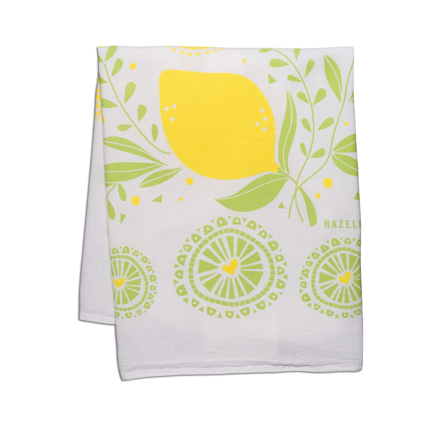 Tea Towel - Lemon Bloom