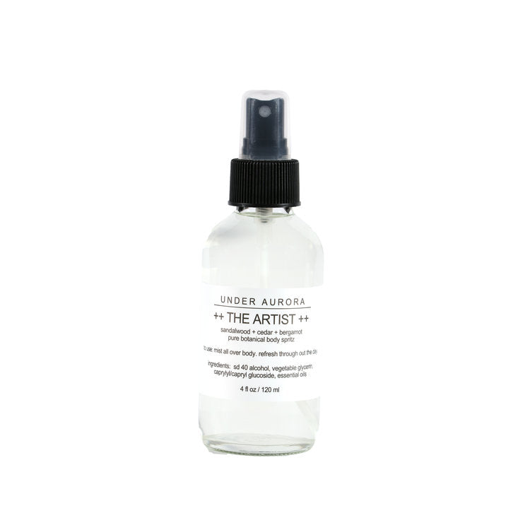 The Artist - Botanical Body Spritz by Under Aurora