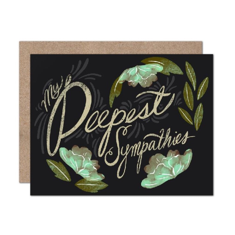 Olive & Company - My Deepest Sympathies Card