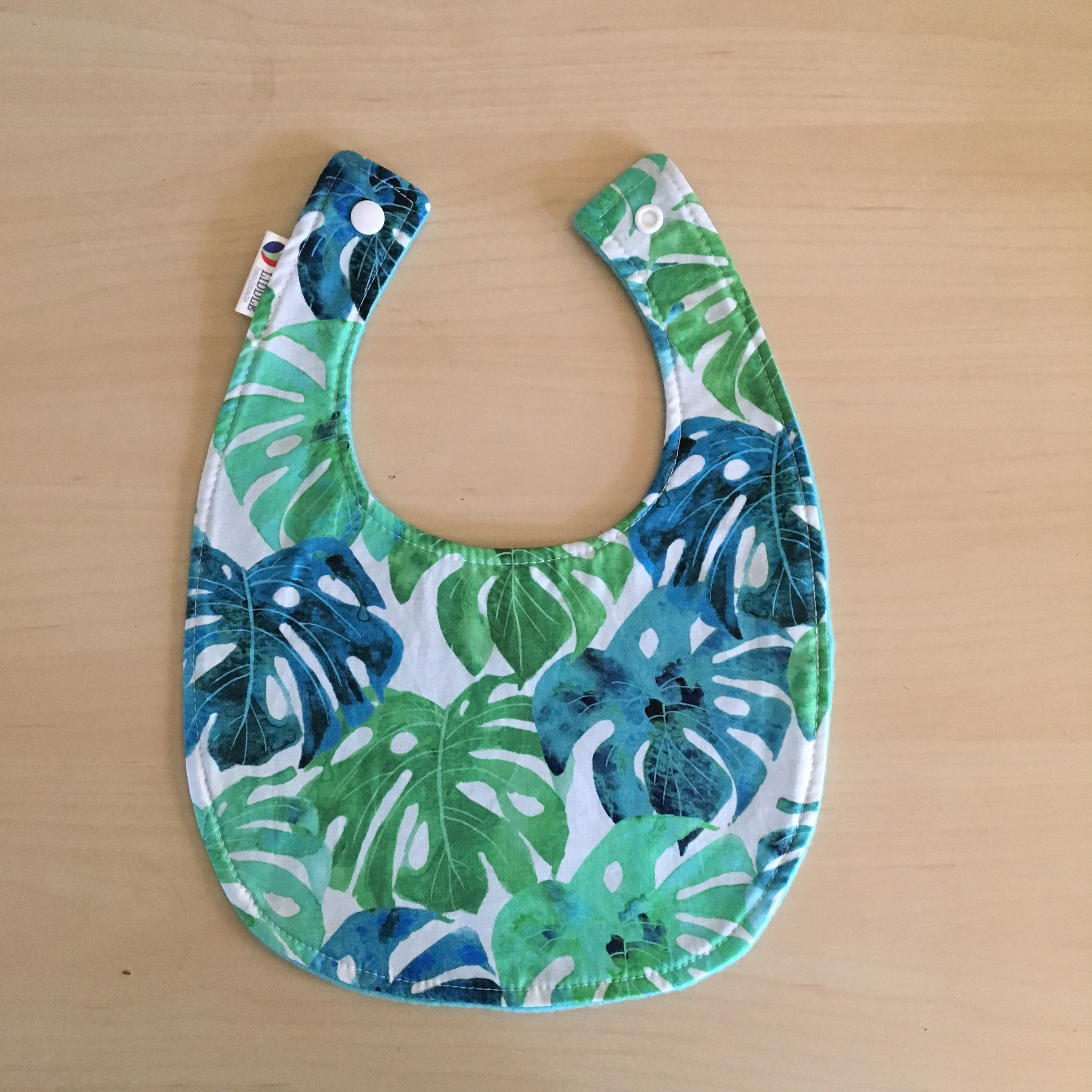 Baby - Monstera Baby Bib