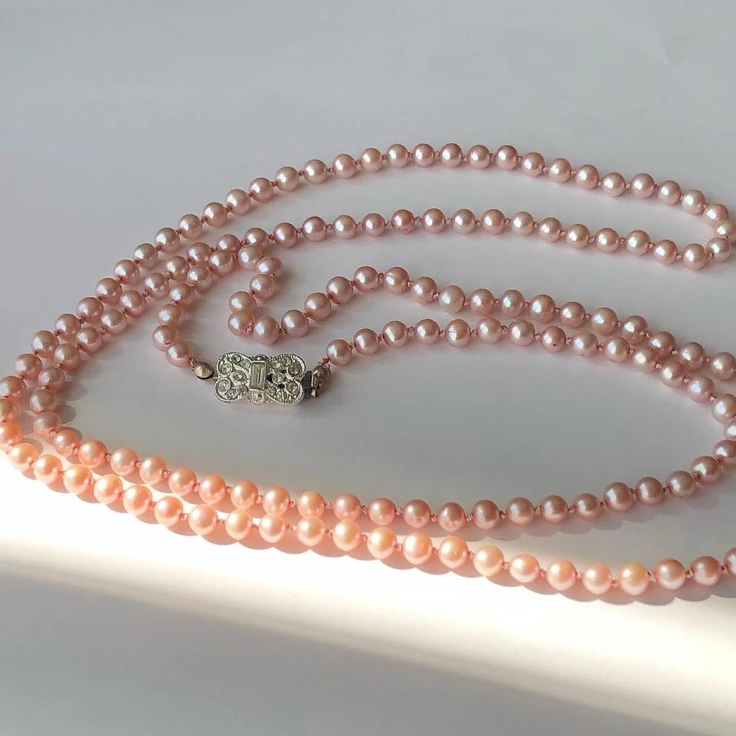 11/15 Jewelry Workshop: Hand-Knotting on Silk Cord on Friday November 15 at 6pm
