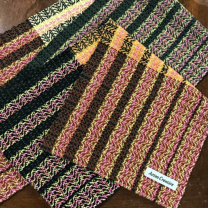 Woven Table Runner 60 inch long