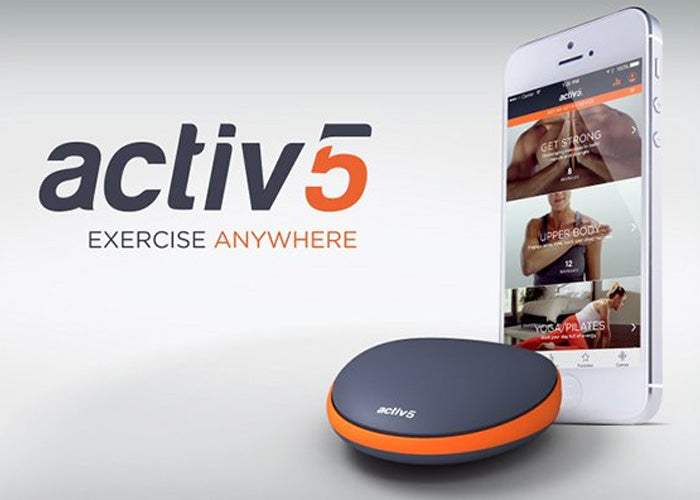 Who wouldn't love a tiny gym in their pocket? Exercise anywhere!