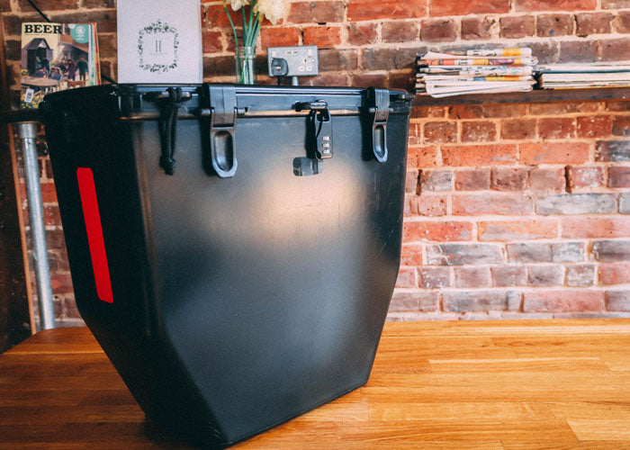 Proper protective panniers by Bike Bins | Kickstarter Launch