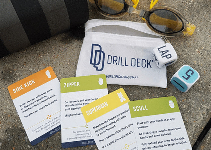 Make swimming fun with Anja Smith & Drill Deck