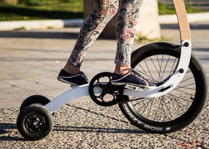 Turns out you CAN reinvent the wheel - or at least the bike!