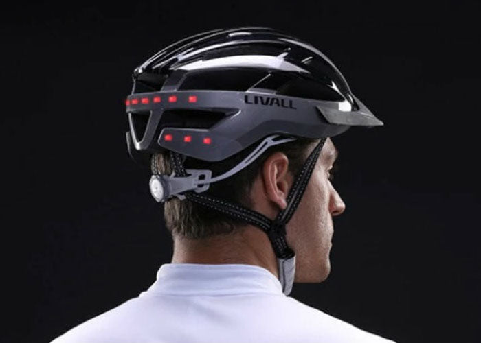 Be safer at night with the Livall range of lighted bike helmets