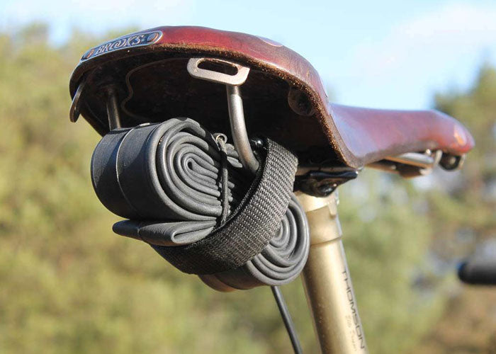 Ditch the pack and go minimalist with the Louri Bike Strap