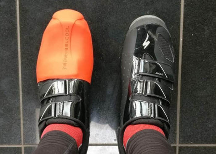 Are TwoWheelCool Shoe covers good in the winter?