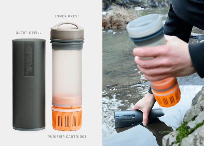 Grayl Water Filter and Bottle
