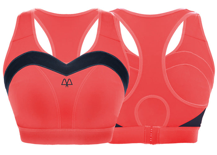 Maaree Empower Sports bra in Coral