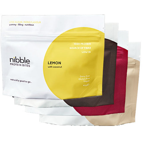 Nibble Protein Bite Flavours