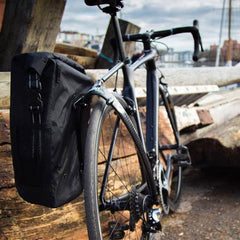 Tailfin Road bike rack and pannier system