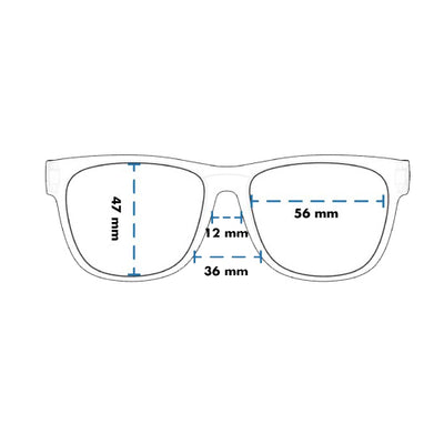 Goodr BFG Large Frame Size Sunglasses