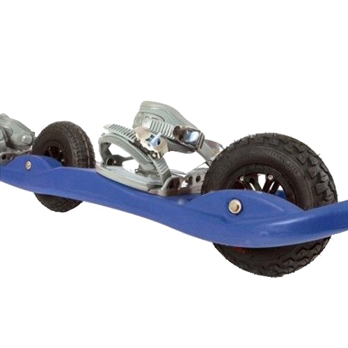 2Wheel Board Snowboard Blue