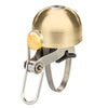 6KU Classic Bell in Polished Gold for Vintage, Cool, Stylish Bikes