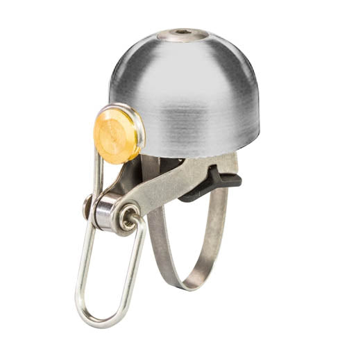 6KU Classic Bell in Silver for Vintage, Cool, Stylish Bikes