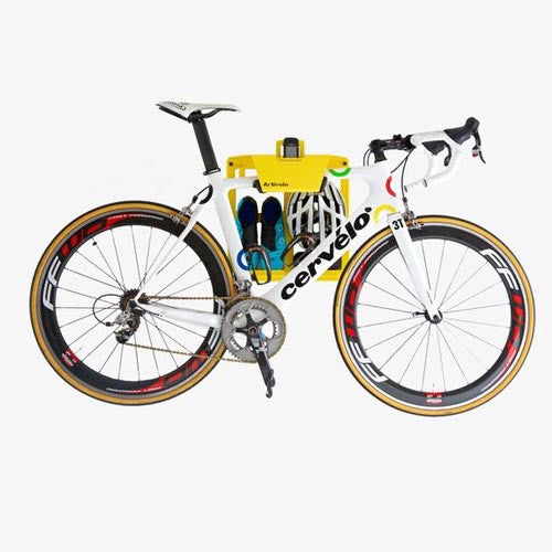 Artivelo Bike Dock in Tour De France Yellow
