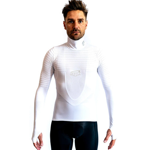 Basez 2 White Cycling Baselayer