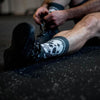 Lithe Badass Black Skull Crossfit Socks