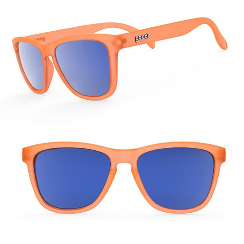 Goodr Sunglasses - Donkey Goggles - Orange
