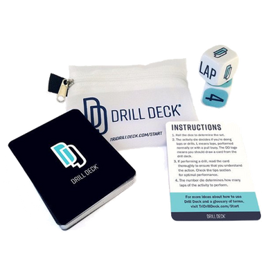 Drill Deck Triathlon Swim Training Drill Games