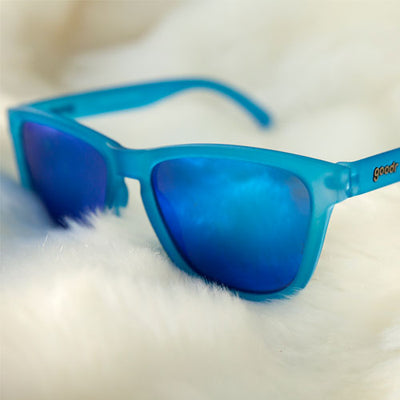 Goodr Sunglasses - Falkor's Fever Dream - Blue