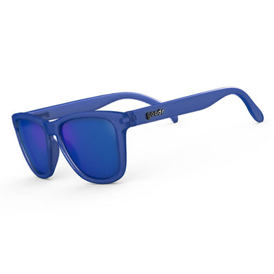 Goodr Sunglasses - Falkor's Fever Dream - Blue Frame and Lens