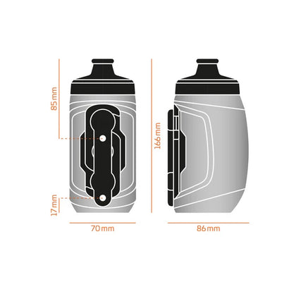 Fidlock Twist Bottle 450 + Bike Base Connector
