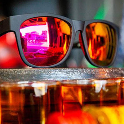 Goodr Beast BFG's Large Sunglasses - Firebreather's Fireball Fury - Wider Frame