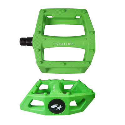 Fyxation Gates Pedals - Green