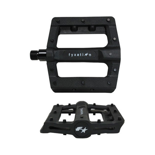 Fyxation Gates Slim Bike Pedals - Black