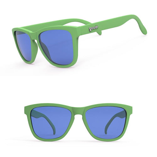 Goodr OGs Sunglasses - Gangrenes Runners Toe - Green
