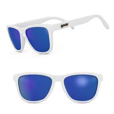 Goodr Sunglasses - Iced By Yetis - White