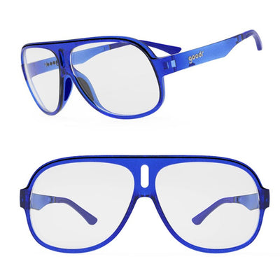 Goodr Super Fly's Sunglasses - Jorts for your face - Blue