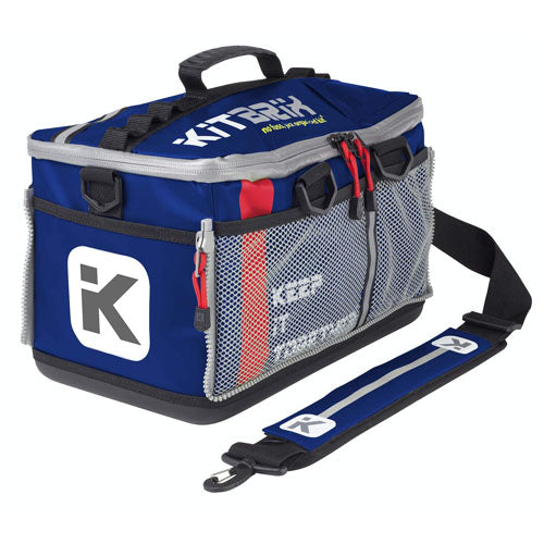 Kitbrix Navy Blue Icon Sports Bag