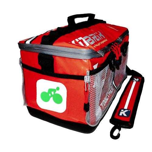 Kitbrix Red Icon Sports Bag