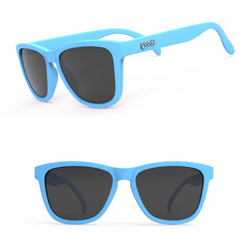 Goodr OGs Sunglasses - Frank's Llama Land Ditty - Blue