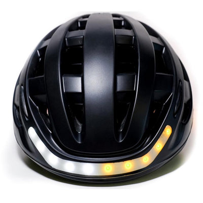 Lumos Bike Helmet with turn signals at the front