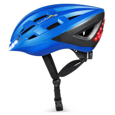 Lumos Lite Bike Helmet with Lights - Blue