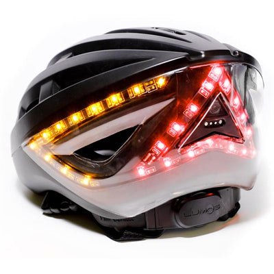 Lumos Bike Helmet with turn signals at the back with remote