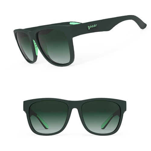 Goodr BFG's Sunglasses - Mint Julep Electroshocks - Green