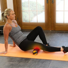 MojiHeat heated Foam Massage Roller for Glutes