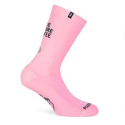 Pacific and Co Coffee Cycling Socks in Pink