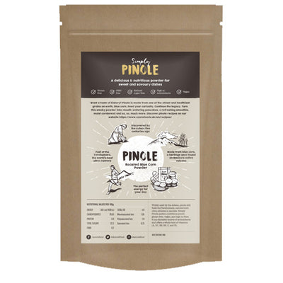 Peak Pinole Original Blue Corn Powder | Tarahumara Born to Run