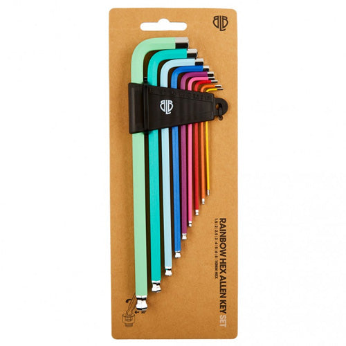 Brick Lane Bikes Rainbow Allen key Set