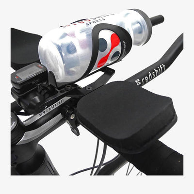 Redshift Sports Clip on Aerobars for Triathlon - Water Bottle Mount