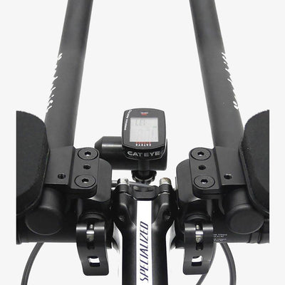 Redshift Sports Clip on Aerobars for Triathlon - Computer Mount